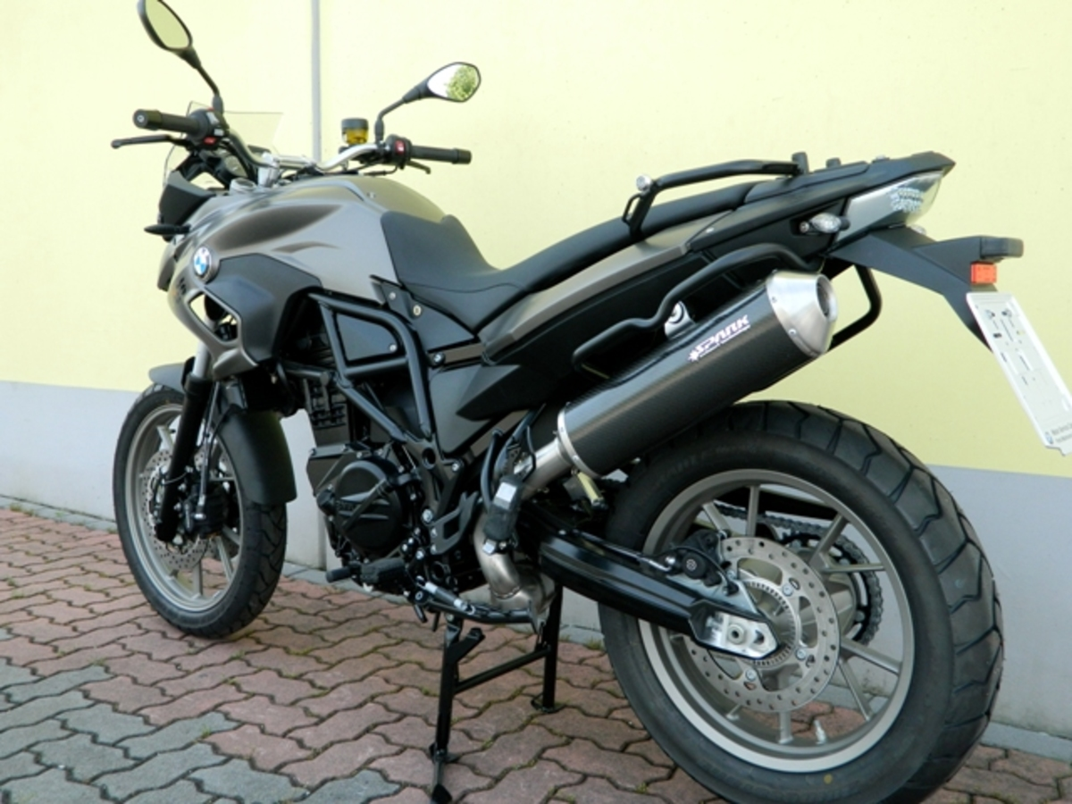 Carbon koncovka BMW F 700 GS (12-15)