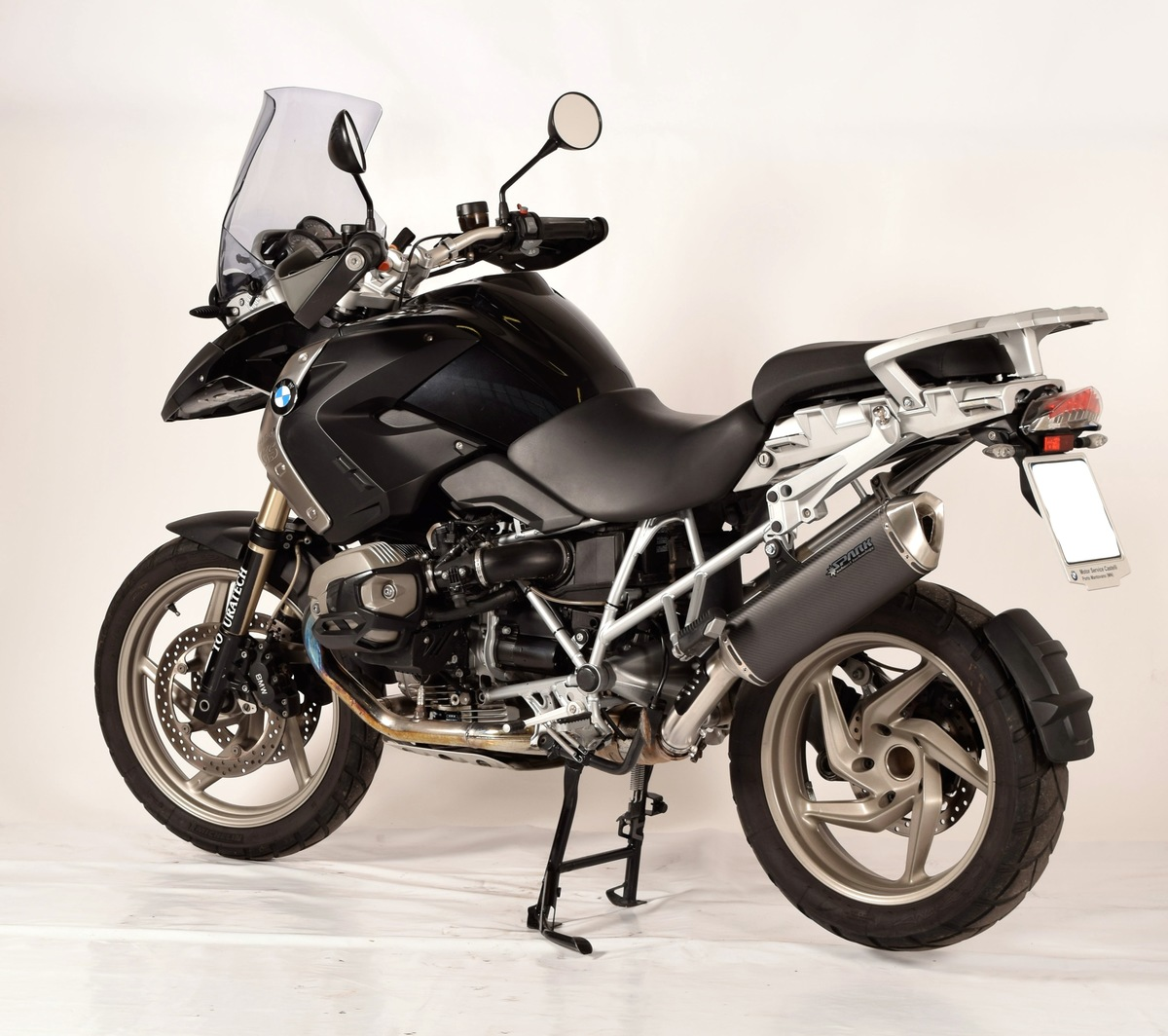 Carbon koncovka BMW R 1200 GS (10-12)