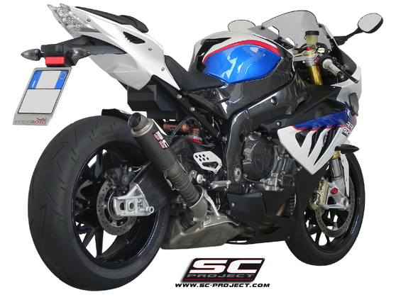 Carbon výfuk GP M2 BMW S 1000 RR / HP4 2010 - 2014
