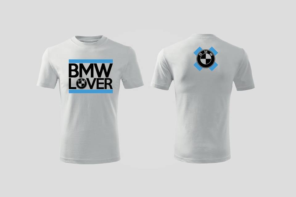 Triko BMW Lover - double logo