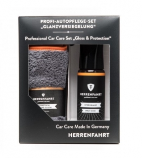 "HERRENFAHRT Professional Car Care Set ""Gloss & Protection"""